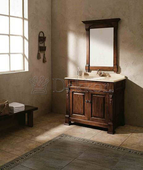 Bathroom Furniture Classic Solid Wood Bathroom Vanity