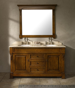 Double Vanity Bathroom Furniture  Bathroom Vanities Units Linen Cabinets