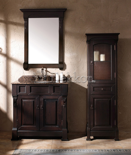Bathroom furniture wooden bathroom vanity BOSCO 1220 Mahogany