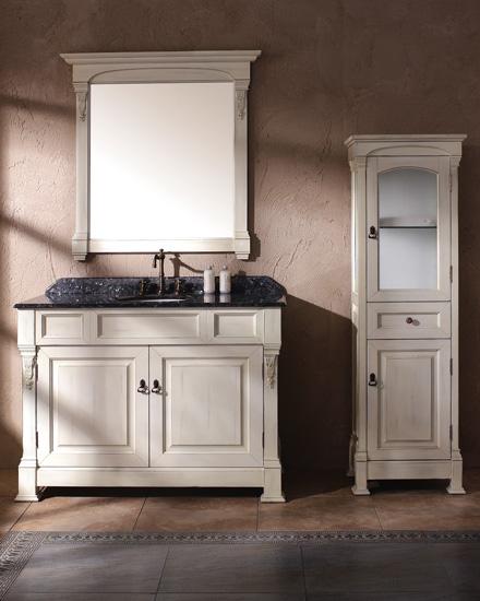 Bathroom furniture classic solid wood bathroom vanity BOSCO 1220