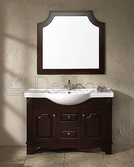 Sue solid wood vanity unit front. Bathroom furniture   wooden bathroom vanity   ceramic washbasin