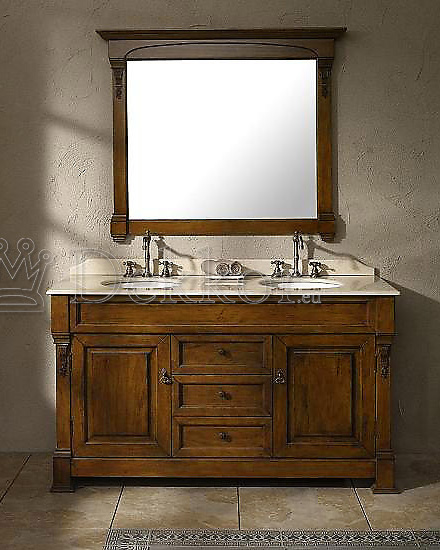bathroom furniture double bathroom cabinet bosco 1520 2 oak